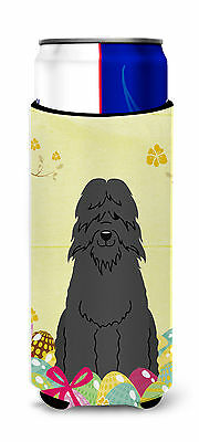 Easter Eggs Bouvier des Flandres Michelob Ultra Hugger for slim cans
