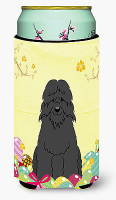 Easter Eggs Bouvier des Flandres Tall Boy Beverage Insulator Hugger