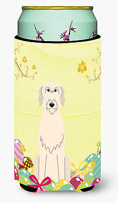 Easter Eggs Irish Wolfhound Tall Boy Beverage Insulator Hugger