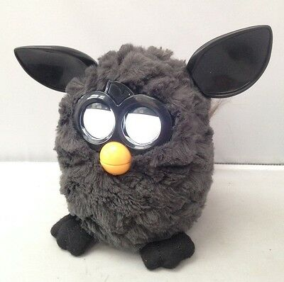 Furby 2012 Interactive Electronic Pet Black Tested & Working!