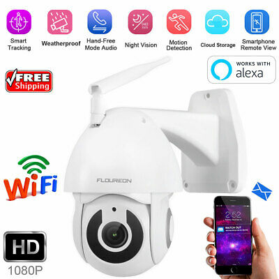 YI Smart IP Camera 1080P Sans Fil WiFi Extérieure Video Surveillance Cam W/Alexa