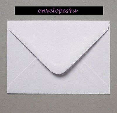 C5 152 x 216mm (Small) White Envelopes for A5 Cards 100gsm Craft FREE P&P !!!