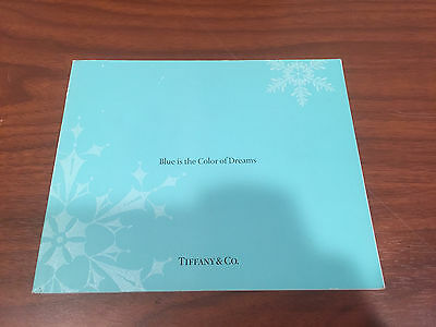 Tiffany and co Blue Is the color of dreams 2007 Catalogue Book