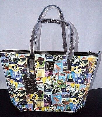 NWT Disney Parks Dooney & Bourke 2016 EPCOT Food and Wine Festival Tote Purse