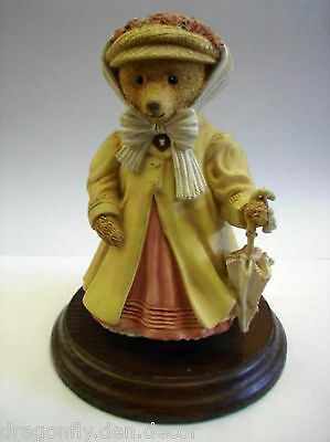 The UPSTAIRS DOWNSTAIRS BEARS Mrs Henrietta Bosworth Socialite Dept 56