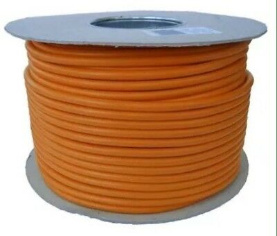 1 x 1.5mm BS6231 UL CSA TRI RATED 1KV Orange cable - 100m on drum.