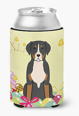 Easter Eggs Greater Swiss Mountain Dog Can or Bottle Hugger