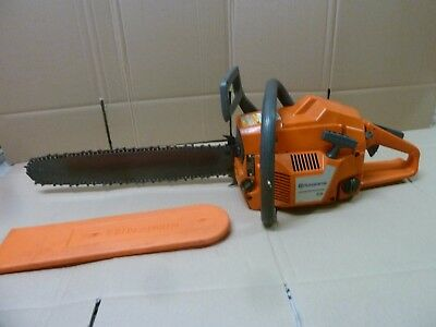 "Husqvarna 55  20"" bar Gas Powered Chain Saw Chainsaw"