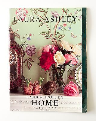 Laura Ashley Home Catalog Magazine Fall 1990 Vintage Free Shipping