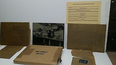 Rare Discontinued Vintage Jack Daniel's Tin Types Complete Set of 7.  New