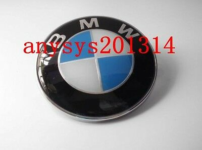 NEW 82mm For BMW Hood Trunk EMBLEM Logo Badge M X Z 1 3 5 6 7 Series with Pin