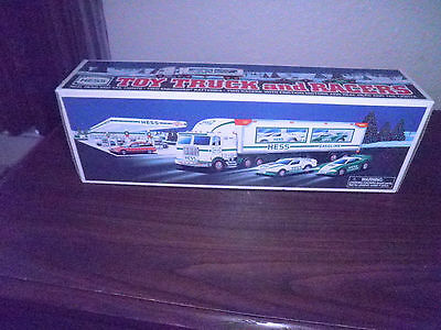 1997 Hess Toy Truck and Racers New in Box Free Shipping • $22.00
