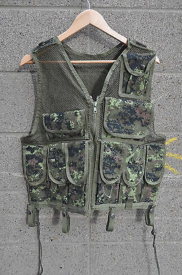 CADPAT Tactical Vest Adapted For Paintball / Airsoft One Size Fits Most XS to XL