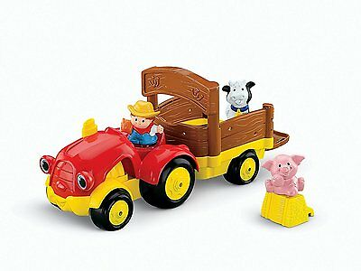 Kids Activity Toy Toddler Pretend Play Set Learning Fisher Price Farm Tractor