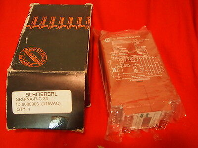 Schmersal Srb-Na-R-C.33-115V **new In Box** Safety Relay