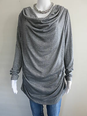 MATERNITY Top Size 18 Grey Long Sleeve BUY 4 or more items for FREE POST