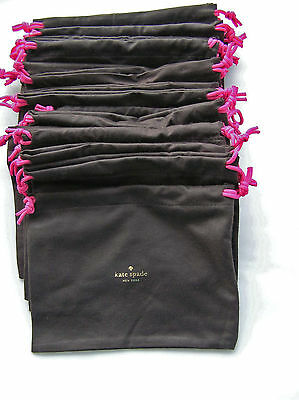 """20 KATE SPADE OBLONG 7x9"""" JEWELRY ACCESSORY PURSE POUCH TRAVEL BAG LOT GOING!"""