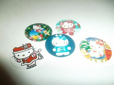 NEW PRE CUT ONE INCH BOTTLE CAP IMAGES HELLO KITTY DETROIT LIONS FREE SHIPPING