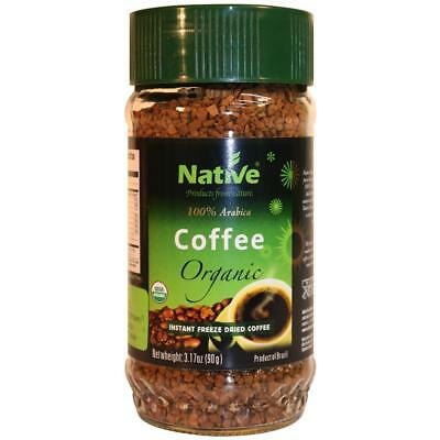 Native - organic freeze dried instant coffee - Arabica premium 90g