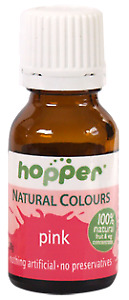 Hoppers natural colouring pink 20g Organic Gluten Free Health Food