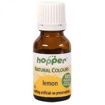 Hoppers natural colouring Yellow 20g Organic Gluten Free Health Food