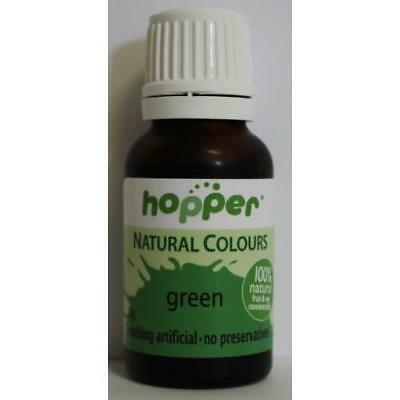 Hoppers natural colouring green 20g Organic Gluten Free Health Food