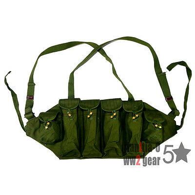 Original Surplus Chi-com 7.62mm Mag bag Type 81 Chest Rig 5 Cells