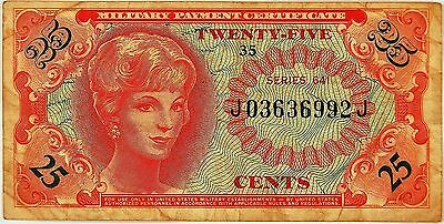 Mpc Series 641  .25 Cents