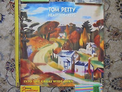 TOM PETTY_Into The Great Wide Open_used promo poster_ships from AUS!_xx72_sh8