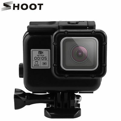 Black 30M Waterproof Protective Case Housing Touch Back Door Cover f GoPro Hero5