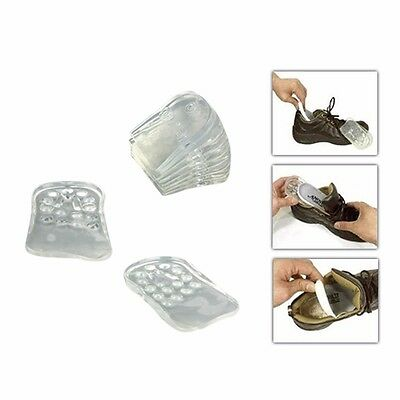 High Heel Lift Taller Shoe Inserts Height Increase Insoles Silicone Pads