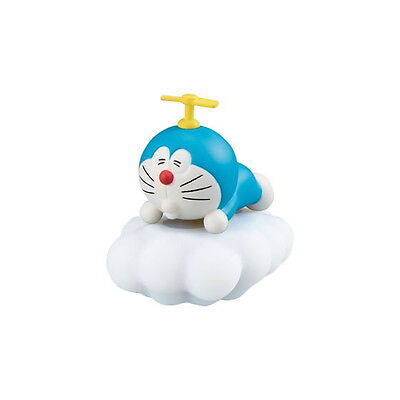 Doraemon Desktop PVC Collectible Decoration SD Figure ~ Doraemon on Cloud @10933