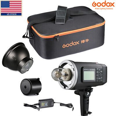 US Godox AD600BM 600W HSS 1/8000s 2.4G Studio Flash Light Case Kit For Wedding