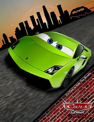 "006 Cars 3 - Pixar Lightning McQueen 2017 Cartoon Movie 24""x31"" Poster"