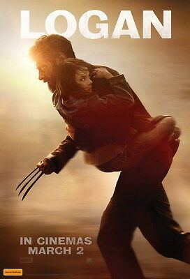 "021 The Wolverine 3 - Hugh Jackman Action 2017 Movie 24""x35"" Poster"