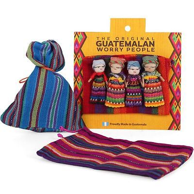 Large Worry Dolls in a Bag