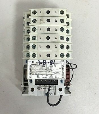 General Electric CR460XMC | 12 Pole  2-Wire 110-120 VAC Lighting Contactor
