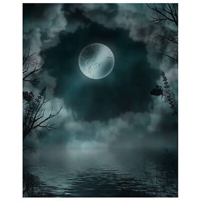 Scenic Background for Studio Photo Props Moon Photographic Backdrops Vinyl N2W4