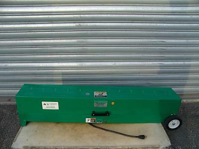 Greenlee 851 1/2 To 4 Inch Electric Pvc Heater Bender 120V Works Fine #5
