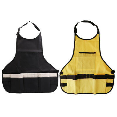 Waterproof Garden Garages Work Apron Workwear with Many Pockets for Tools