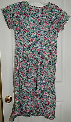 Motherwear Gale River Maternity Nursing Floral Modest Dress Small