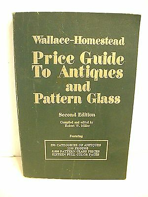 Price Guide To Antiques And Pattern Glass Second Edition 1974 Book Paperback
