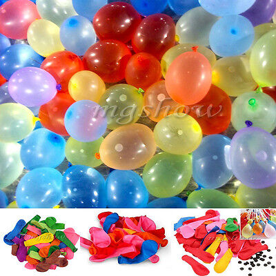 111 Water Balloons Bomb Self Tying Garden Outdoor Birthday Party BBQ Summer Toys
