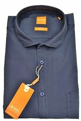 HUGO BOSS Camicia slim fit in cotone col. blu CATTITUDE By BOSS ORANGE