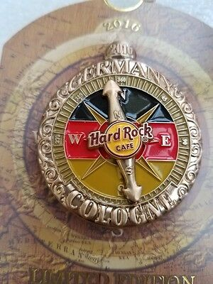COLOGNE,Hard Rock Cafe Pin,EUROPE COMPASS SERIES