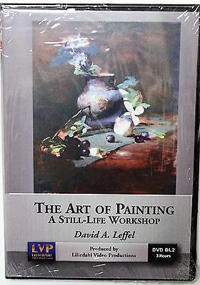 David Leffel: The Art of Painting - Art Instruction DVD