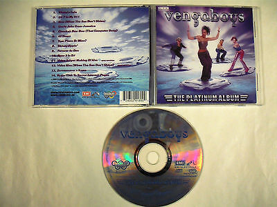 VENGABOYS  The Platinum Album  CD