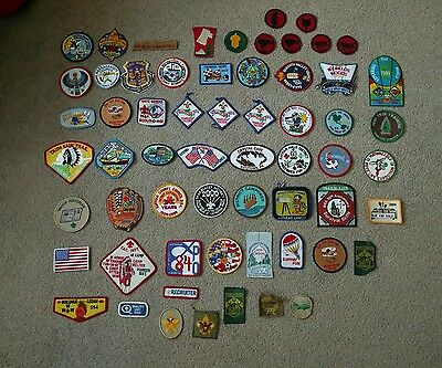 61x Vintage and New BSA Boy Scouts of America Camporee Patch Lot