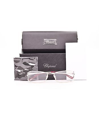 0d7d980515e Chopard VCH946S 501X Eyeglasses Silver Gold Rose Frame 55mm