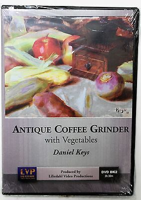 Daniel Keys: Antique Coffee Grinder with Vegetables - Art Instruction DVD